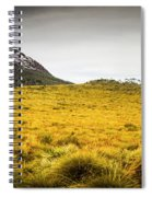 Tasmania Mountains Of The East-west Great Divide  Spiral Notebook