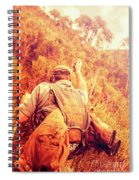 Tasmania Search And Rescue Ses Volunteer  Spiral Notebook