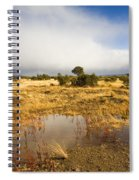 Tasmanian Storm  Spiral Notebook