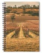 Tasmanian Winery In Winter Spiral Notebook