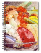 Tastes Of Tuscany Spiral Notebook