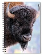 Tatanka Portrait Spiral Notebook