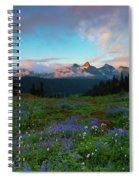 Tatoosh Dawning Spiral Notebook