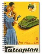 Tatraplan Spiral Notebook
