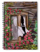 Tattered Curtains Spiral Notebook