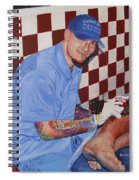 Tattoo Artist - Brandon Notch Spiral Notebook