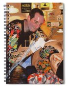 Tattoo Artist Spiral Notebook