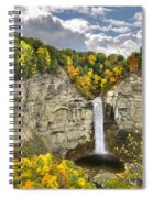 Taughannock Falls Autumn Spiral Notebook