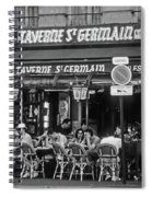 Taverne St. Germain, Paris Spiral Notebook