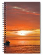 Taveuni Sunset Spiral Notebook