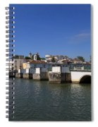 Tavira Ponte Romana And The River Spiral Notebook