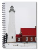 Tawas Point Lighthouse 2 Spiral Notebook