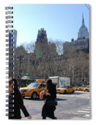 Taxi Anyone Spiral Notebook
