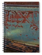Taxi To Nowhere Spiral Notebook