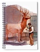 Taxidermist Spiral Notebook