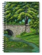 Taylor Lake Stone Bridge Spiral Notebook