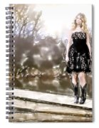 Taylor Swift Watercolor Spiral Notebook