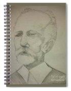 Tchaikovsky Spiral Notebook