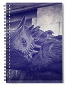 Tcu Horned Frog Purple Spiral Notebook
