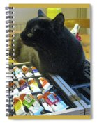 The Artist Formerly Known As Fluf Spiral Notebook