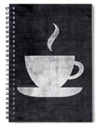 Tea And Coffee- Art By Linda Woods Spiral Notebook