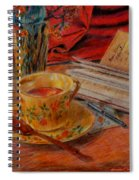 Tea And Diary Spiral Notebook