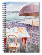 Tea At Furlongs Spiral Notebook