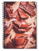 Tea Break  Spiral Notebook