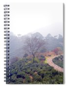 Tea Field Spiral Notebook
