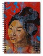 Tea Girl Spiral Notebook