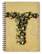 Tea Pot Art Spiral Notebook