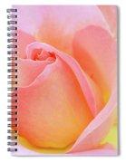 Tea Rose-elle  Spiral Notebook