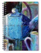 Tea With Friends Spiral Notebook