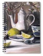 Tea With Lemon Spiral Notebook