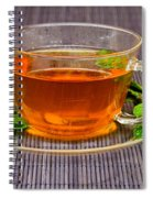 Tea With Mint Spiral Notebook