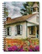 Teacher - The School House Spiral Notebook