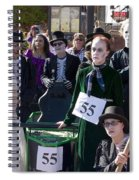 Team 55 At Emma Crawford Coffin Races In Manitou Springs Colorado Spiral Notebook