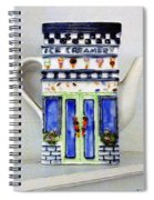 Teapot Delusional Spiral Notebook