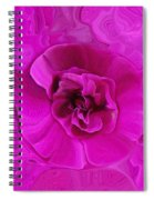 Teapot Rose Spiral Notebook