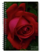 Teardrops Of A Rose Spiral Notebook