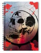 Tears Of A Clown Spiral Notebook