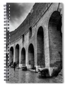 Tears Of Rain At Coliseum Spiral Notebook