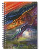 Tears Of The Tiger Spiral Notebook