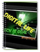 Tech Is Goal Spiral Notebook