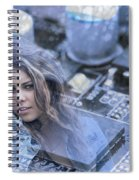Technology Girl Spiral Notebook