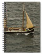 Tecla Enters Sydney Harbour Spiral Notebook