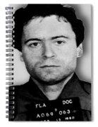 Ted Bundy Mug Shot 1980 Vertical  Spiral Notebook