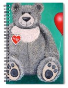 Teddy Bear Eli Spiral Notebook
