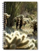 Teddy Bear Forest Spiral Notebook