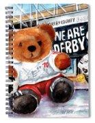 Teddy Bear Ince Spiral Notebook